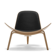 Sessel von 'Carl Hansen' in Leder