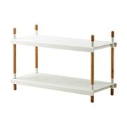 Frame rack 2 low white