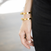'Dual Bracelet Gold' von Studio Mason