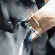 Schlicht-schönes Armband in Silber