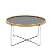 Carl hansen tray table black laminate 500x500 20kopie