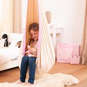 baumwoll h ngematte mit makramee. Black Bedroom Furniture Sets. Home Design Ideas