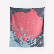 Summer cotton throws towels the splash cotton blankets throws by carmen boog 1 1024x1024