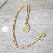Halskette 'Coin' in Gold