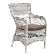 9196x marie armchair vintage white