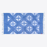 Rothirsch silhouette towel blue front 1024x1024