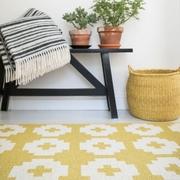 Teppich 'Flower' für draussen