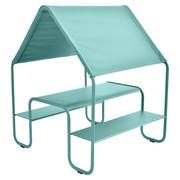 Fermob picnic kinderhuette spielhaus lagunenblau frei