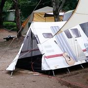 Caravan camping tent
