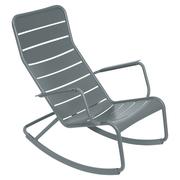 Rocking chair gewittergrau