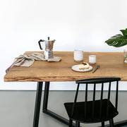 Nutsandwoods oak steel table details