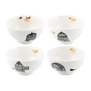 Freedom birds bowl set of 4 373438
