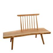 Setz dich mal: Holzbank