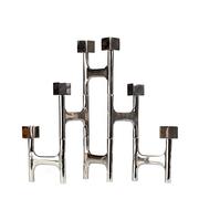 Verstellbarer Kerzenständer aus Metall