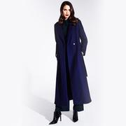 1718 44 langer mantel blau 04