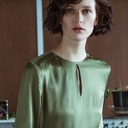 1718 83 blouse forest green 3