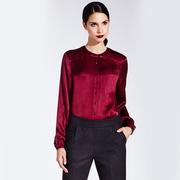 1718 82 blouse burgundy 1