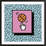 Kunstprint 'Ball Tricks'