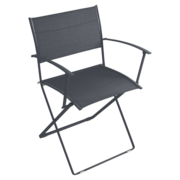 Fermob anthracite armchair