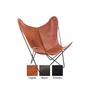 Hardoy butterfly chair mit husse in bio bueffelleder