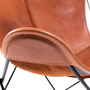 Hardoy butterfly chair mit husse in bio bueffelleder 4