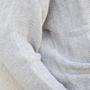 Pullover Nieve Grau Jungle Folk