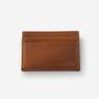 Porte carte brun
