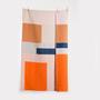 Plaid Bauhaus Muster Zig Zag Zurich
