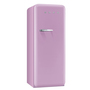 0001923 fab28 refrigerator with ice box pink