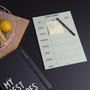 Foodplaner Design Letters