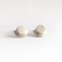 Baiushki pebbles moonlight earrings silver 1 1024x1024