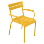 Fermob Luxembourg Stuhl Honig 73 Stuhl mit Armlehnen