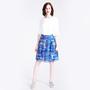 18 71 top white und 18 72 skirt 18 38 b silk cotton