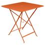 Fermob Bistro Tisch Eckig Karotte / Orange 27 71 x 71 cm