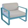 315 16 bleu turquoise fauteuil gris flanelle