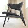 Lounge Chair Spän Schwarz Houe