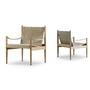 Safari chair 61x61 cm oak lacquered saddle 10 2 613575 1
