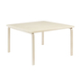 Aalto table square 84 legs and edge band birch top birch 2222741
