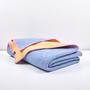 Artist wool blankets a melange wool blanket by michele rondelli 4 1024x1024