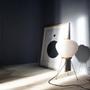 Akari table lamp of akari table lamp table or floor light akari light sculptures design by isamunoguchi