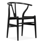 Hans wegner style black wishbone chair with natural seat cult remarkable white cushion nz replica walnut pad 970x970