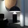 Atollo lampada da tavolo black oluce