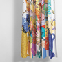 Cotton shower curtains blossom artist cotton shower curtain waterproof by sophie probst 1 1024x1024