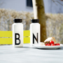 Thermosflasche Design Letters