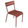 Fermob Luxembourg Stuhl  Stuhl ohne Armlehnen,  Ockerrot 20 NEU