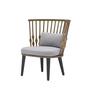 Stuhl Nub mit hoher Rückenlehne von Andreu World
