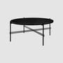 Coffee Table TS mit schwarzem Gestell 80cm von Gubi