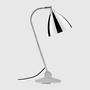 Tischlampe Bestlite BL2 mit Chromegestell von Gubi