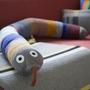 Kissen Mr Rainbow Snake Ferm Living