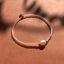 Armband 'petite perle' von Weiskönig Jewelry